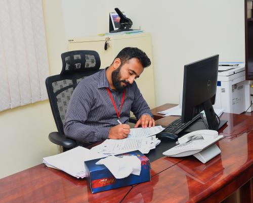 Akhil Pavithran, Accountant , Trafco Logistics