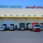 Distribution Vans in Loading & Unloading Bay, Trafco Logistics